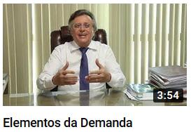 YouTube - Elementos da Demanda - Prof. Barros Consultoria & Advocacia
