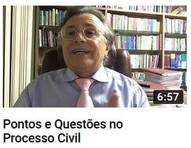 YouTube - Pontos e Questões no Processo Civil - Canal Prof. Barros Consultoria & Advocacia